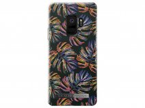 iDeal of Sweden Neon Tropical Case - Galaxy S9 hoesje