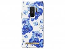 iDeal of Sweden Baby Blue Orchid - Galaxy S9+ hoesje