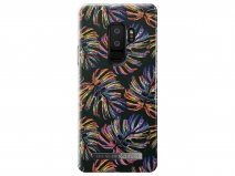 iDeal of Sweden Neon Tropical Case - Galaxy S9+ hoesje