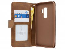 Zipper Wallet Case Bruin - Samsung Galaxy S9+ hoesje