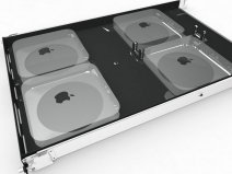 H-Squared Mini Rack - Server Rack Mount - 4 x Mac Mini