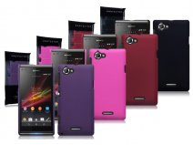 Terrapin Frosted Hard Case Hoesje voor Sony Xperia L