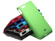 Color Series Hard Case Hoesje voor Sony Xperia Miro