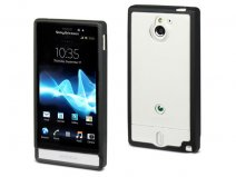 Muvit Bimat Back TPU Crystal Case voor Sony Xperia Sola
