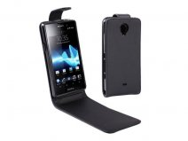 Business Leather Case voor Sony Xperia T (LT30i)