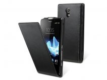 Muvit Slim Elegant Leather Case Sony Xperia T