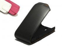 Classic Leather Flip Case voor Sony Xperia U (ST25i)