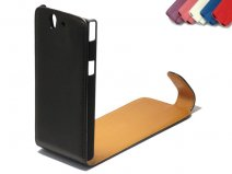 Classic Leather Flip Case voor Sony Xperia Z (C6603)