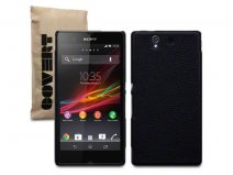 Covert Leather-look Back Case Hoesje voor Sony Xperia Z