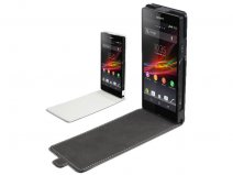 Muvit Slim Elegant Leather Case Sony Xperia Z