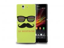 Moustache Sunglasses Fashion Hard Case voor Sony Xperia Z