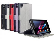 Covert UltraSlim Book Case - Hoesje voor Sony Xperia Z1