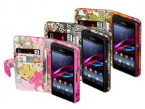 Terrapin Lily Wallet Case - Hoesje voor Sony Xperia Z1 Compact