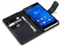 CaseBoutique Leather Wallet Case - Hoesje voor Sony Xperia Z3