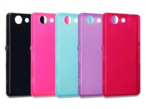 Terrapin TPU Soft Case - Hoesje voor Sony Xperia Z3 Compact