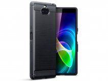 CaseBoutique Carbon TPU Skin - Sony Xperia 10 Hoesje