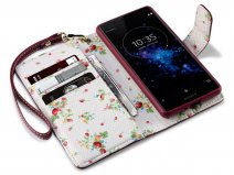 CaseBoutique Floral - Sony Xperia XZ2 Compact Hoesje