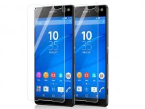 Sony Xperia C5 Ultra Screenprotector 2-pack
