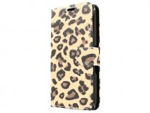 Leopard Book Case Hoesje voor Sony Xperia E4g