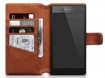 CaseBoutique Leather Case - Leren Sony Xperia L1 Hoesje