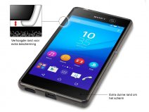 CaseBoutique TPU Soft Case - Sony Xperia M5 hoesje