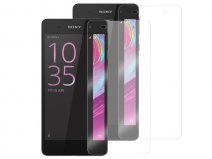 Sony Xperia X Screenprotector Folie 2-pack
