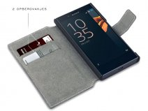 Covert Slim Bookcase - Sony Xperia X Compact hoesje