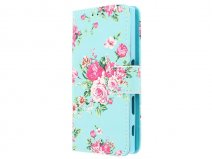 Flower Bookcase - Sony Xperia X Compact hoesje