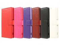 Wallet Book Case Hoesje voor Sony Xperia Z3 Plus