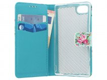 Flower Bookcase - Sony Xperia Z5 Compact hoesje