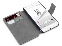Covert Slim Bookcase - Sony Xperia Z5 Compact hoesje