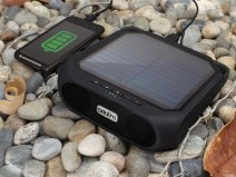 Soulra Rugged Rukus - Solar Bluetooth Speaker Powerbank