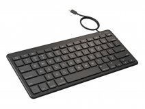 Zagg Wired Lightning Keyboard - Bedraad iPad Toetsenbord