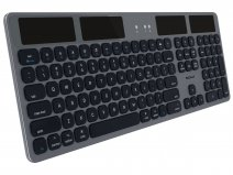 MacAlly Solar Bluetooth Apple Keyboard - QWERTY - BTSOLARKEYSG