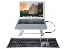 MacAlly USB-C Toetsenbord Apple Keyboard - QWERTY - UCACEKEYSG
