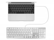 MacAlly Wired Apple Keyboard - QWERTY - SLIMKEYPROA-UK