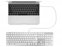 MacAlly Wired Apple Keyboard - AZERTY - SLIMKEYPROA-FR