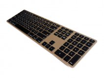 Matias Wireless Aluminium Keyboard voor Mac (Gold)