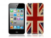 Great Brittain Vintage Flag Case Hoes voor iPod touch 4G