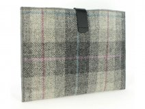 Offici�le Harris Tweed Plaid Grey Tablet Sleeve (10 inch)