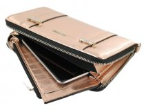 Supertrash Alethea Smartphone Wallet (Metalic Rose)