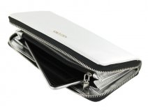 Supertrash Wally Smartphone Wallet (Metalic Zilver)