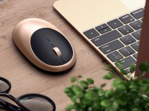 Satechi M1 Wireless Mouse - Bluetooth Muis (Gold)