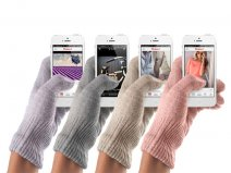 Mujjo Fashionable TouchScreen Gloves Handschoenen (Maat S/M)