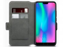 CaseBoutique SlimFit Wallet Zwart - Honor 10 hoesje