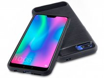 CaseBoutique Carbon TPU Skin Case - Honor 10 hoesje