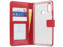 Book Case Wallet Rood - Honor 10 Lite hoesje
