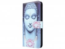 Boeddha Lily Book Case - Honor 10 Lite hoesje