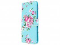 Bloemenprint Book Case - Honor 10 Lite hoesje