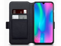 CaseBoutique Slim Wallet Case Carbon - Honor 10 Lite hoesje